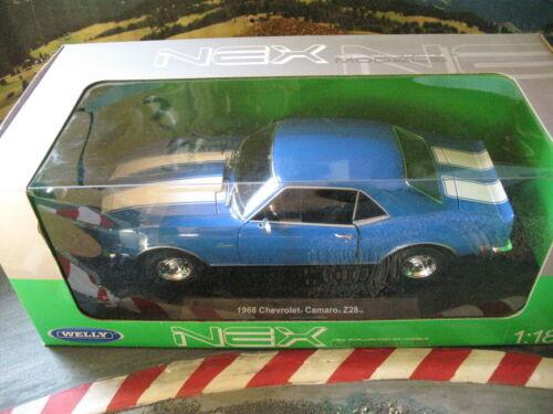 1:18 Chevrolet Camaro Z28 1968 Neu und OVP Welly
