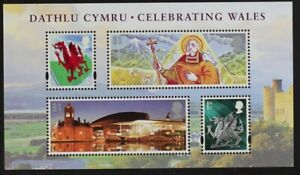 GB-GR-BRITAIN-2009-MSW121-Celebrating-Wales-MIni-Sheet-Mint-NH-S-S