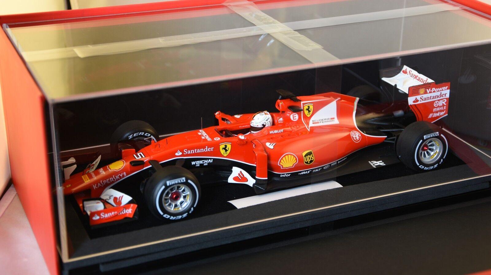 LOOKSMART LS18F101 FERRARI SF15 T Vainqueur Malaisie Malaisie Malaisie 2015 F1 GP N°5 Vettel 1/18 | Outlet  850134