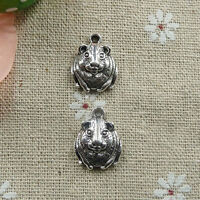 Free Ship 216 pieces tibetan silver mouse charms 18x14mm #031