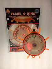 Red Battery Operated Flare King - Emergency/ Warning Road Flare and Safety Light