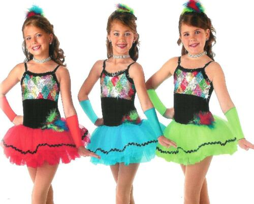 Jewels Ballet Tutu Dance Dress Costume Child XS /& Adult M