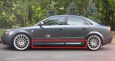 AUDI A4 B6 B7 S4 LOOK SIDE BLADES / DOOR BLADES / DOOR BAR NEW 4 PCS