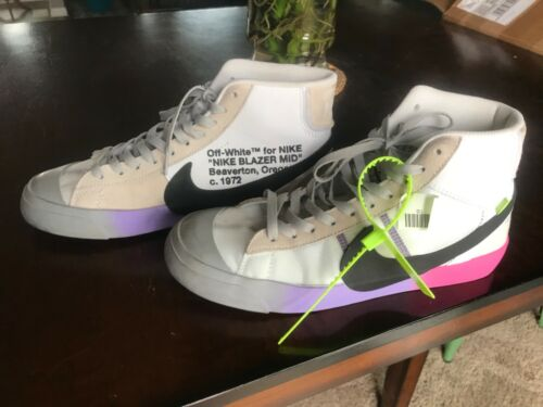 The 10: Nike Blazer Mid Off-White Sz 9.5 Serena Wi