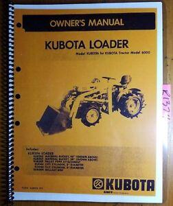 kubota s850 manual on