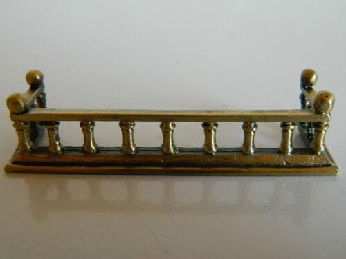 HP6 escala 1//12th Casa De Muñecas Chimenea De Metal Fender