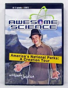 NEW Awesome Science 12 Episodes 6 DVDs Noah Justice America's National Parks