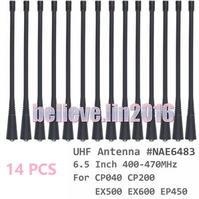 10x UHF Long Antenna for motorola CP040 CP200 EX500 EX600 EP450 Portable radio