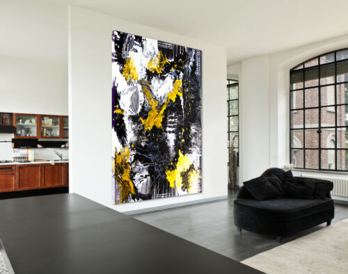 Canvas Picture Abstract XXL Art Print Deco Mural 01