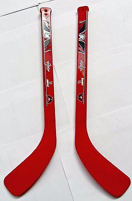 Franklin Washington Capitals Hockey 2 Mini Mazze Plastica Gioco Decorazione 53cm Moda Attraente