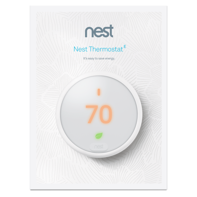 Brand NEW & SEALED Nest Learning Thermostat E T4000ES  Newes