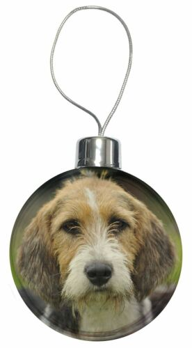 AD-FT4CB Welsh Fox Terrier Dog Christmas Tree Bauble Decoration Gift
