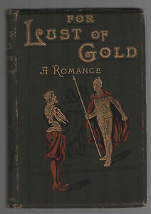 1892-First-edition-of-For-Lust-of-Gold-by-Aaron-Watson-Illustrated-Scarce-book