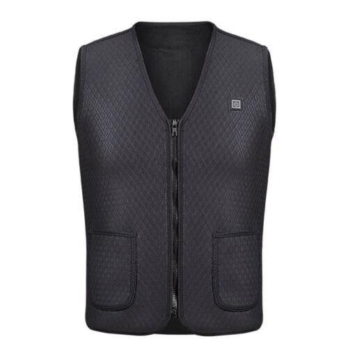 Electric Vest Heated Cloth Jacket USB Thermal Warm Heated Pad Winter Body Warmer
