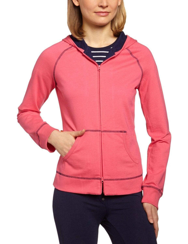 Schiesser Ladies Hooded Jacket Sweat Jacket Hoodie Size L NEW former RRP 39,95
