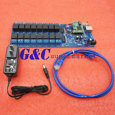 Industrial Ethernet 16 Channel Output Tcpip Internet Web Relay Remote Switch