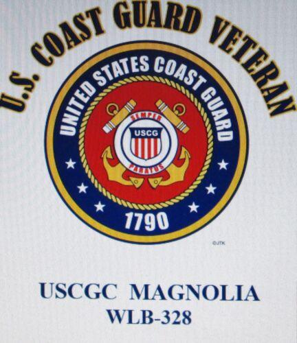 USCGC MOHICAN  WYTM-73* HARBOR TUG  U.S.COAST GUARD VETERAN EMBLEM*SHIRT