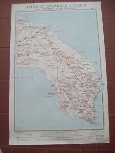 Gallipoli Cartina Geografica Italia.1920 Carta Geografica Brindisi Manduria Lecce Gallipoli Gagliano