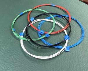 20-feet-32-AWG-Silver-Plated-Copper-PTFE-Wire-5-color-SPC