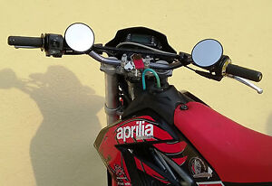 Aprilia Sx / RX 125 Lenkerenden Spiegel E - geprüft Plug & Play inkl. Adapter