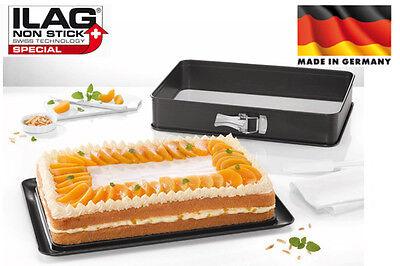 Zenker Creme Noir Springform mit 2 Böden Backform Kuchen Form ILAG Ultimate 7813