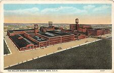 C67/ Akron Summit County Ohio Postcard 1928 Miller Rubber Tire Company Factory