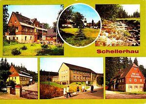 Schellerhau-DDR-Ansichtskarte-ungelaufen