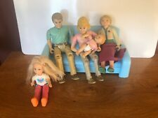 NEW ~ Fisher Price LOVING FAMILY Replacement Figures Lot ~ Mom Dad Baby