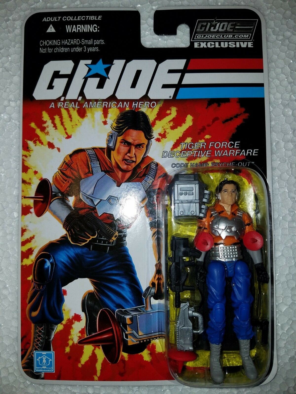 G.I.JOE EXCLUSIVE CLUB FSS The FINAL 12  PSYCHE-OUT - TIGER FORCE DECEPTIVE WAR