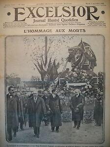 WW1-N-1813-HOMMAGE-AUX-MORTS-ARTILLERIE-EN-CHAMPAGNE-JOURNAL-EXCELSIOR-1915