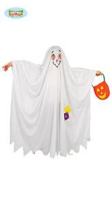 GUIRCA-Costume-vestito-fantasma-carnevale-halloween-bambino-taglie-varie