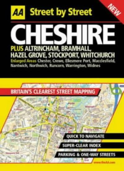 AA Street by Street Cheshire,