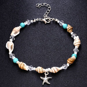 1pc Boho Shell Conch Beads Starfish Anklets Women Sandal Bracelet Foot Jewelry Ebay