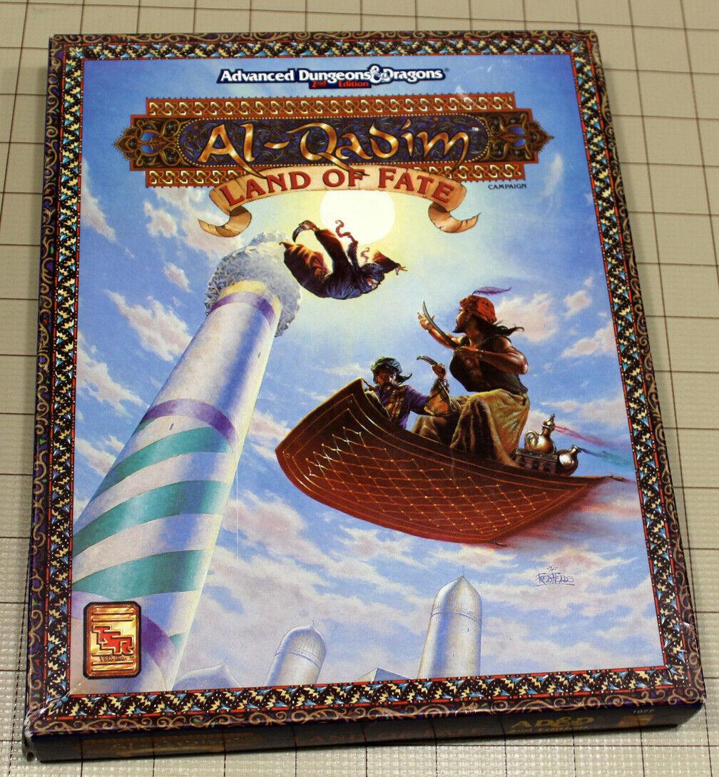 AL-QADIM LAND OF FATE RPG Boxset by TSR 1992