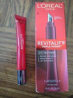L'oreal Revitalift Triple Power Eye Treatment .5 Oz