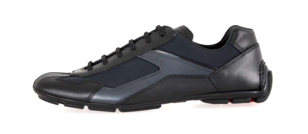 les chaussures de carlo luxe prada monte carlo de de baskets 4e2791 noir nouvelle 7 41 41,5 170001