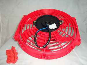 10-INCH-LOW-PROFILE-RED-HIGH-PERFORMANCE-THERMO-FAN-12V