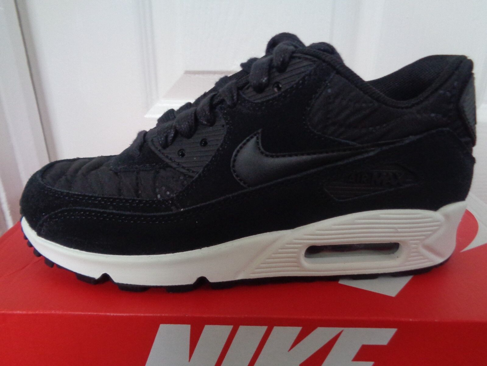 Nike Air Max 90 Prem Femme trainers 443817 009 uk 4 eu 37.5 us 6.5 NEW+BOX