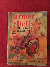 vintage farmer in the dell 1951 a maffel music maker book