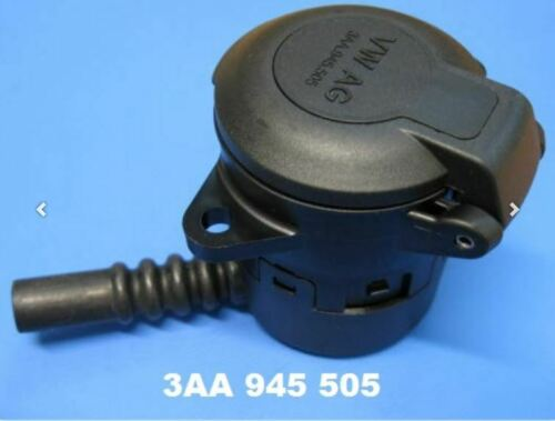Original VW Audi Steckdose Gehäuse AHK Elektrik Anhängerkupplung 13pol. 3AA945505