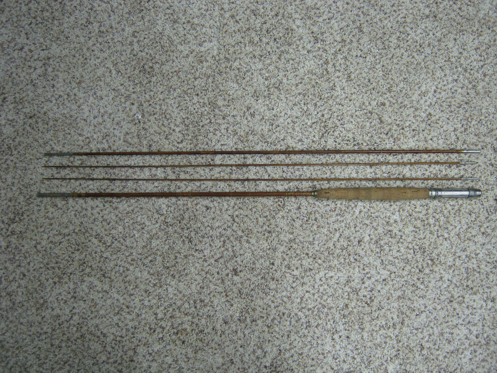 KingFisher Bamboo Vintage Fly Rod with case King  Fisher  40% off