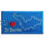ST-BARTHS-Embroidered-Luggage-Tag-NEVER-BREAKS thumbnail 1