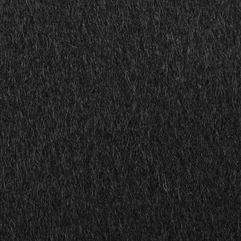 Large 1950s Princess Coat Black Wool Batwing Dolm… - image 7