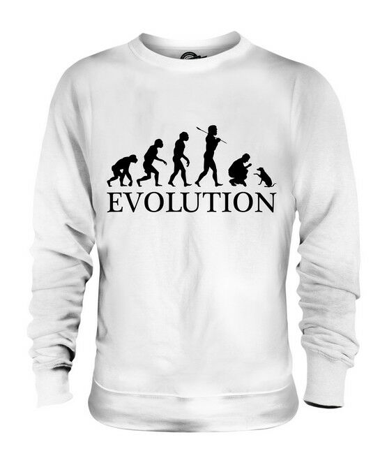 DOG TRAINING EVOLUTION OF MAN UNISEX SWEATER  Herren Damenschuhe LADIES GIFT CLOTHING