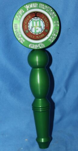 Aluminum Mother Earth Love Your Mother Pale Ale Tap Handle Knob pub bar Vista