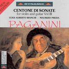 Paganini Centone Di Sonate for Violin and Guitar Vol. 3 Edition CD