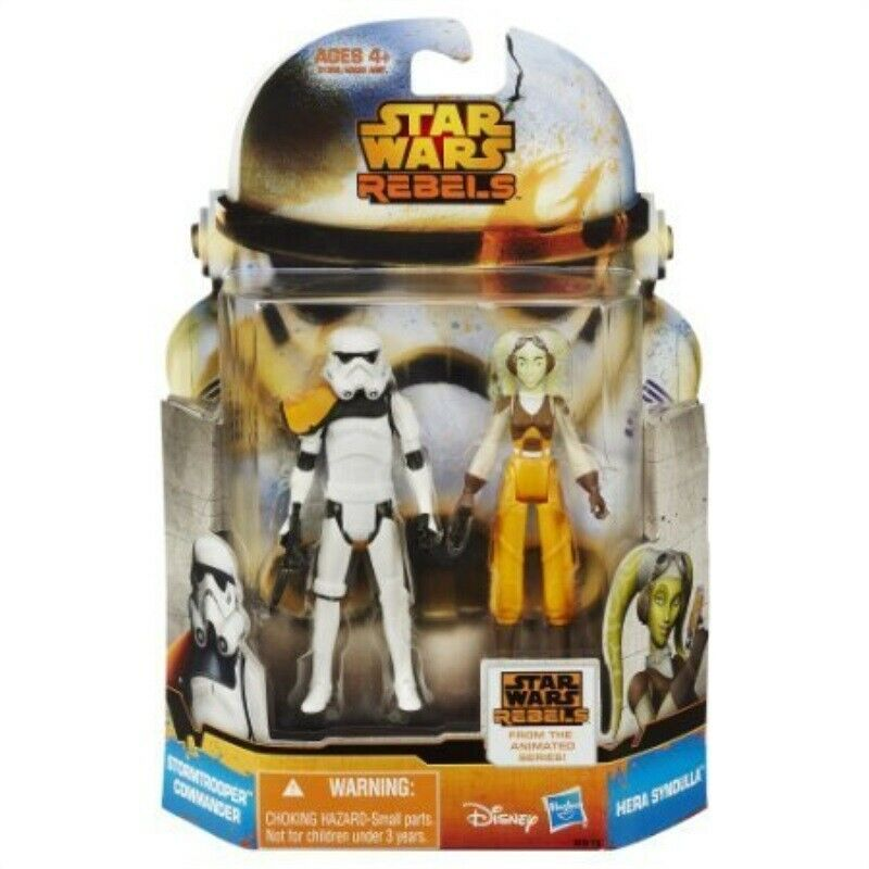 Star Wars Mission Series Hera Syndulla and Stormtrooper Commander Action Figure