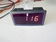 Display Rme Av61241 Volt Meter Red Led 3 12 Mini 05 3 Ac 700v Voltmeter