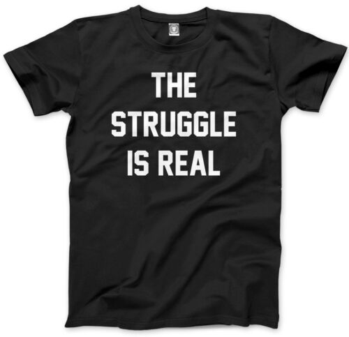 The Struggle Is Real Funny Slogan Kids T-Shirt