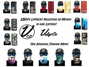 Face Balaclava Scarf Neck Fishing Shield Sun Gaiter Uv Headwear Mask 200+ Styles